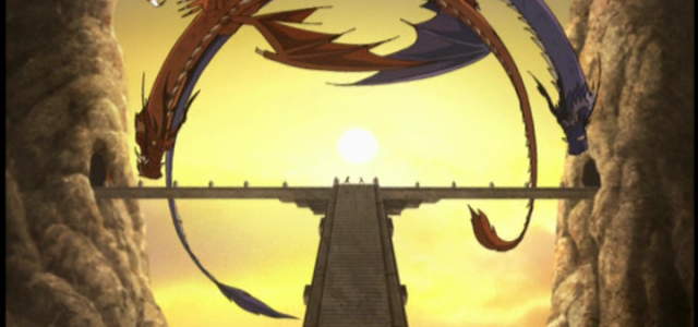 Zuko's Red and Blue Dragons