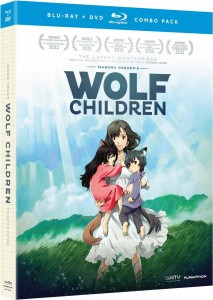 Wolf Children is available on DVD and Blu-Ray disc in the US.