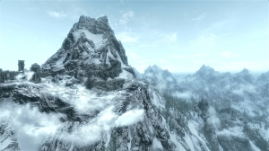 Throat of the World screenshot from Skyrim