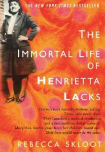 Cover of The Immortal Life of Henrietta Lacks by Rebecca Sloot
