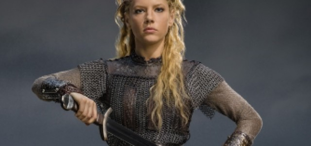 "Lagertha Destroys Stuff: A Collection of Destructive Moments from the Coolest Lady Warrior on ""Vikings"""