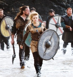 Lagertha, baddest of the baddest, played by Katheryn Winnick