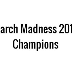 March Madness 2015: Champions