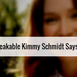 What The Unbreakable Kimmy Schmidt Says and Doesn't Say