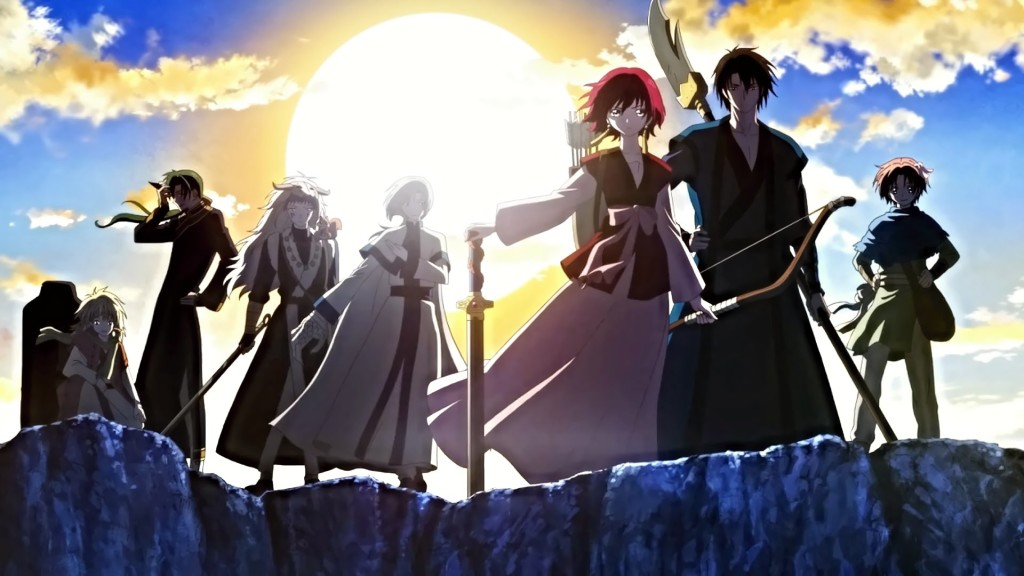 Yona & her companions (Opening)