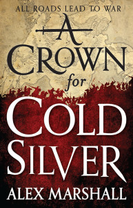 A CROWN FOR COLD SILVER by Alex Marshall US paperback cover