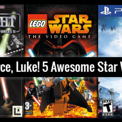 Use the Force, Luke! 5 Awesome Star Wars Games