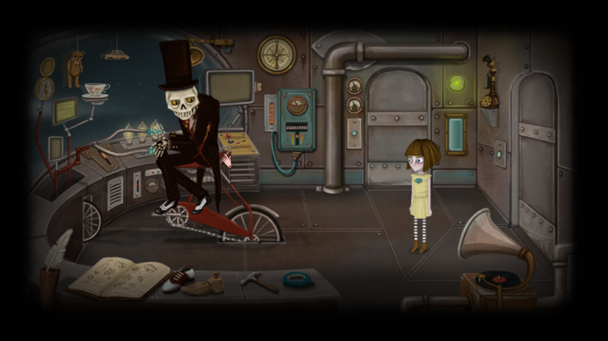 Screencap from Killmonday Games Fran Bow Review