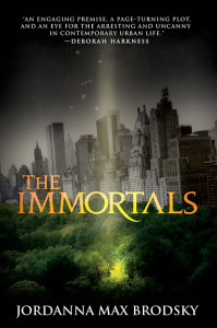 US Cover for THE IMMORTALS by Jordanna Max Brodsky from Orbit Books