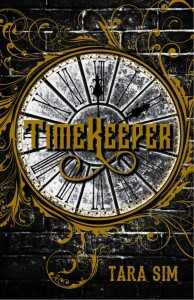 US cover for TIMEKEEPER by Tara Sim