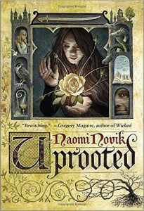 US cover for UPROOTED by Naomi Novik