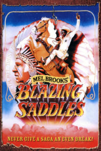 Blazing Saddles Cover