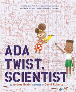 book holiday gift guide 2016 Ada Twist, Scientist by Andrea Beaty