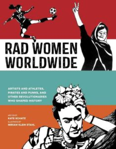 book holiday gift guide 2016 Rad Women Worldwide artists athletes pirates punks revolutionaries