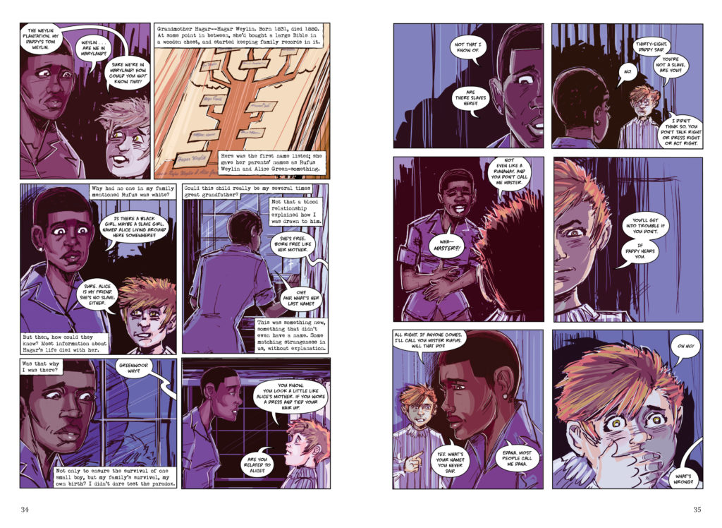 Kindred by Octavia Butler Graphic Novel Adaptation Damian Duffy John Jennings