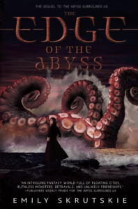 The Edge of the Abyss by Emily Skrutskie 2017 Flux Books cover
