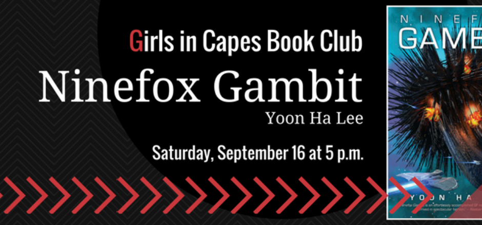 Book Club: NINEFOX GAMBIT by Yoon Ha Lee