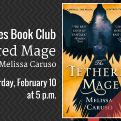 Book Club: The Tethered Mage by Melissa Caruso