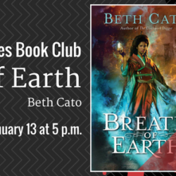 Book Club: BREATH OF EARTH by Beth Cato