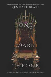 One Dark Throne Kendare Blake US
