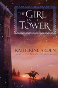 The Girl in the Tower Katherine Arden book cover