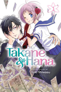 Takane and Hana, Volume 1 Yuki Shiwasi cover VIZ Media Shojo Beat