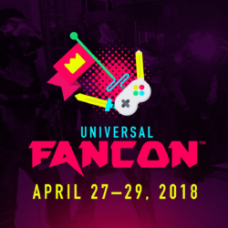 Don't miss the first Universal Fan Con coming this April