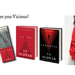 Are you VICIOUS or VENGEFUL? Enter to win a #VillainsSeries prize pack from Tor Books